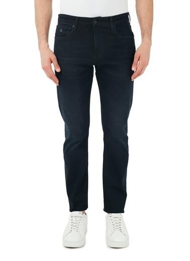 Calvin Klein  Slim Fit Pamuklu Jeans Erkek Kot Pantolon J30J318242 1Bj Lacivert